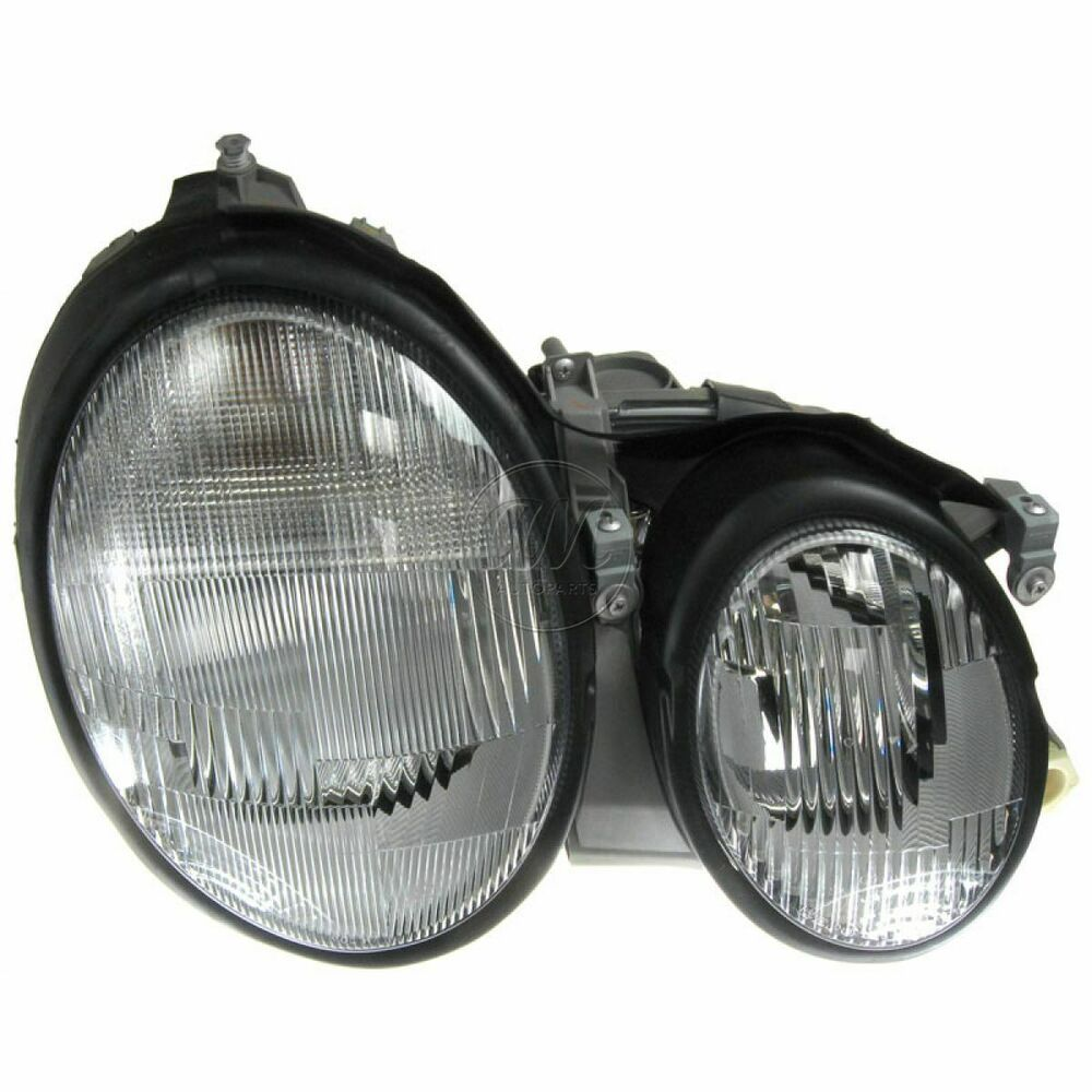 Headlight headlamp passenger side right rh for 98 03 for Mercedes benz headlight bulb