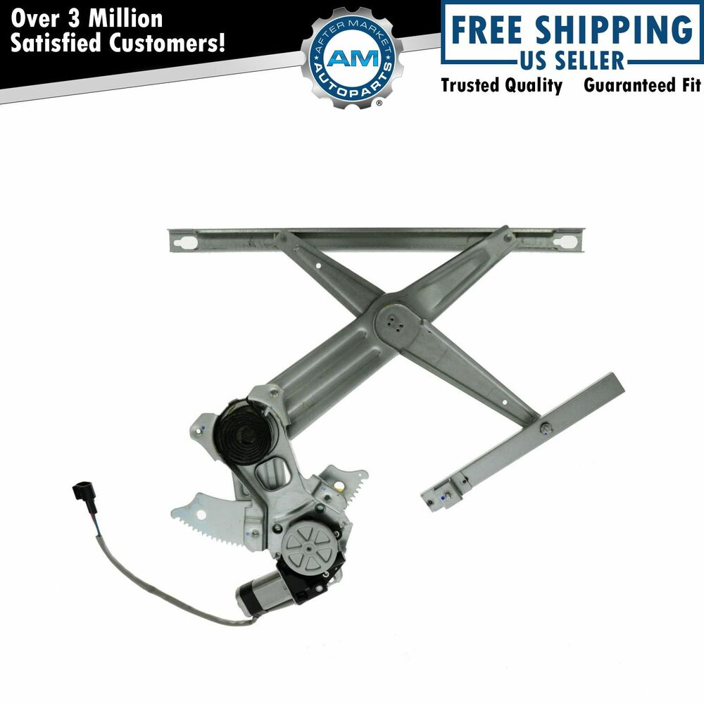 Power window regulator w motor front passenger side rh Window motor and regulator cost
