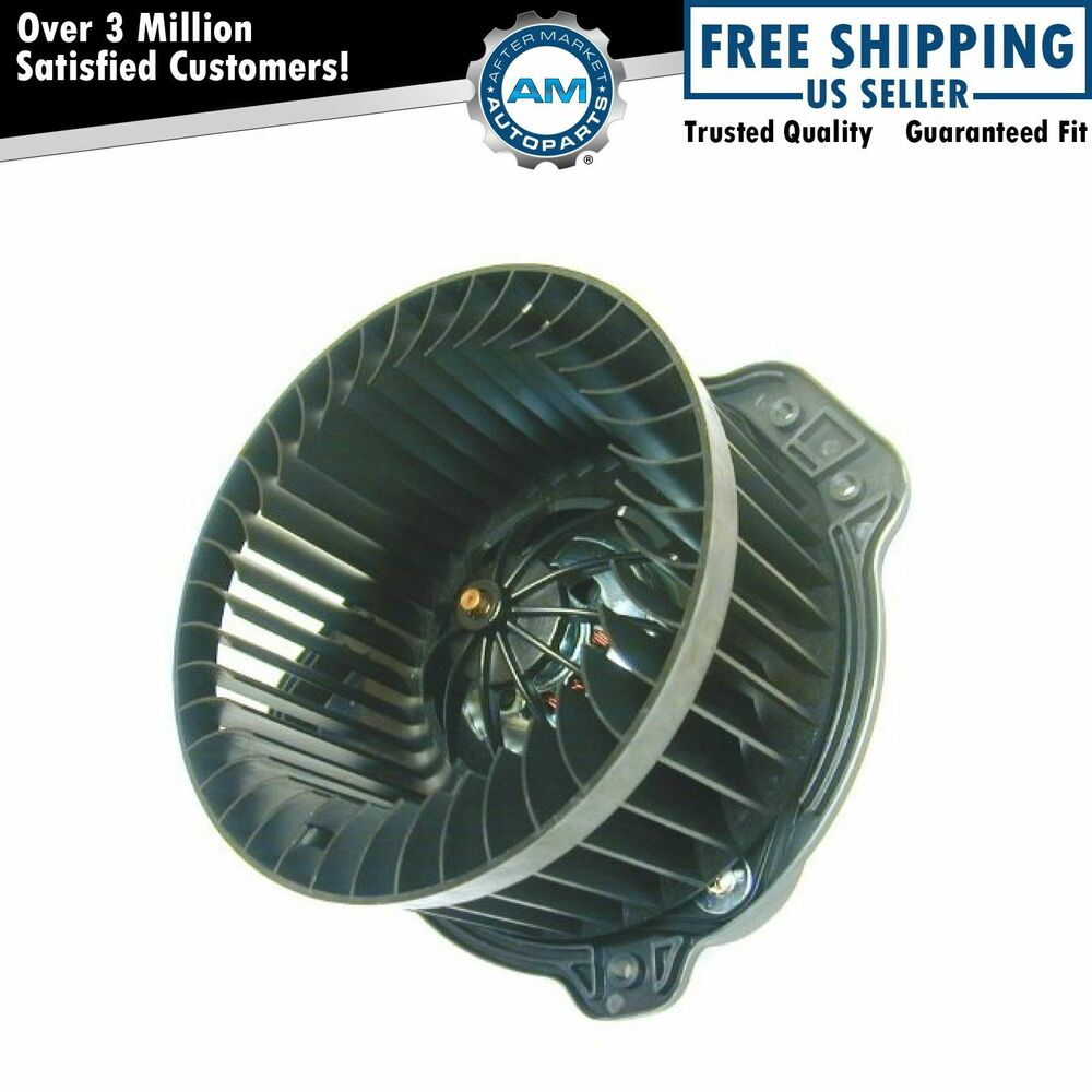 Heater A C Ac Blower Motor W Fan Cage For 98 00 Volvo V70