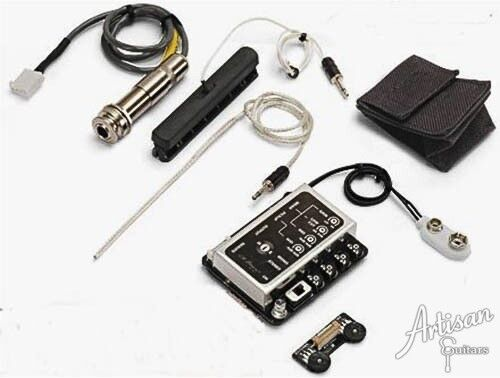 lr baggs imix acoustic guitar pickup system with blending preamp ebay. Black Bedroom Furniture Sets. Home Design Ideas