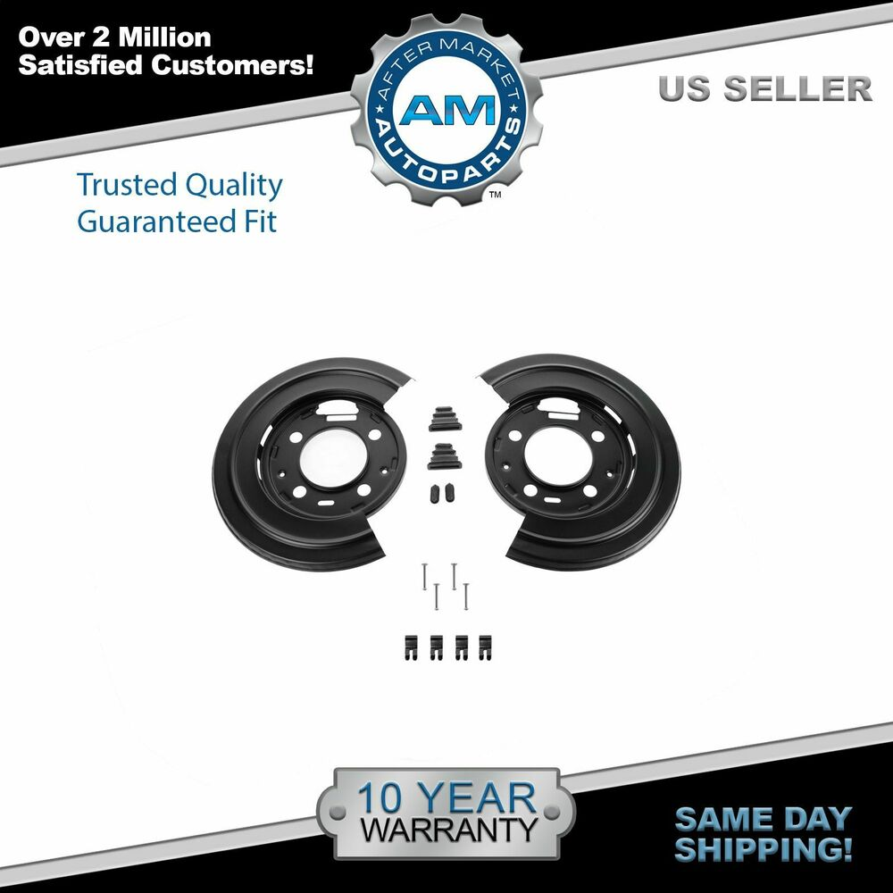 Dorman Rear Brake Dust Shield Backing Plates Pair For Ford F250 F350 Excursion Ebay