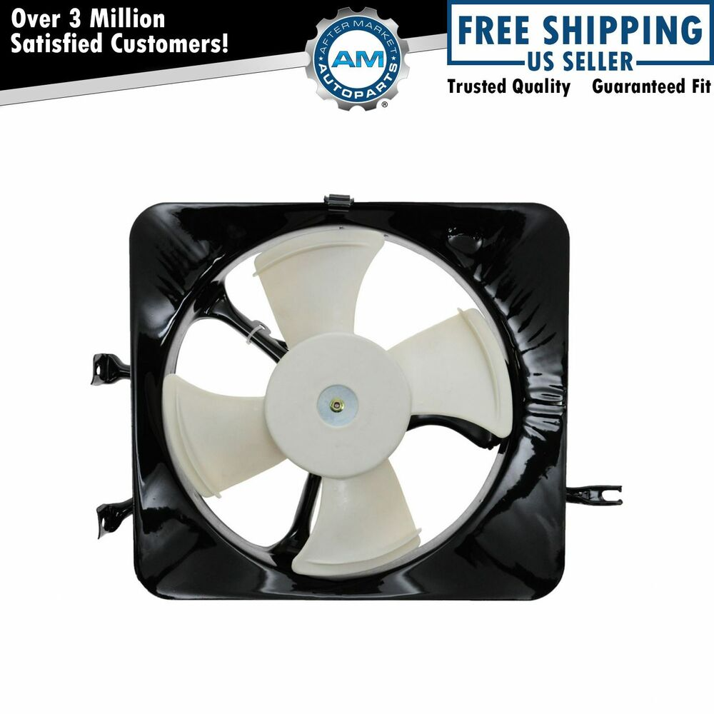 ac a c condenser cooling fan w motor assembly for 97 98