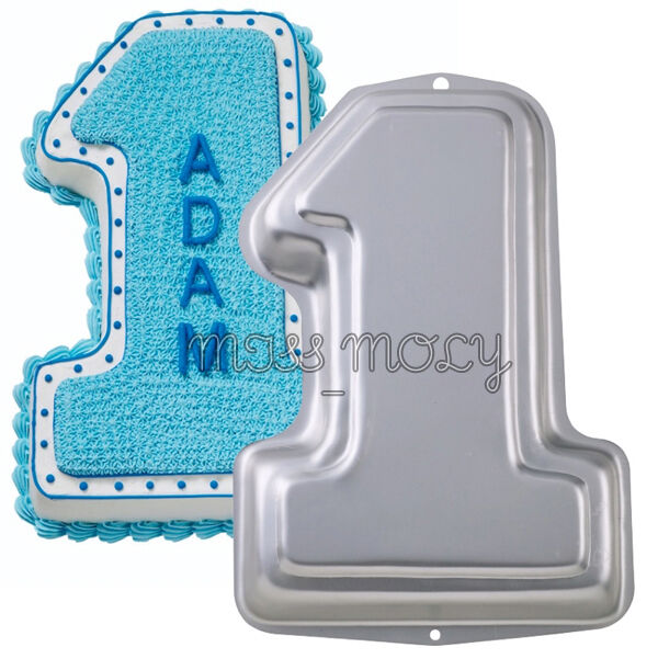 number cake pans large number 1 one baby birthday cake tins pan novelty 6210