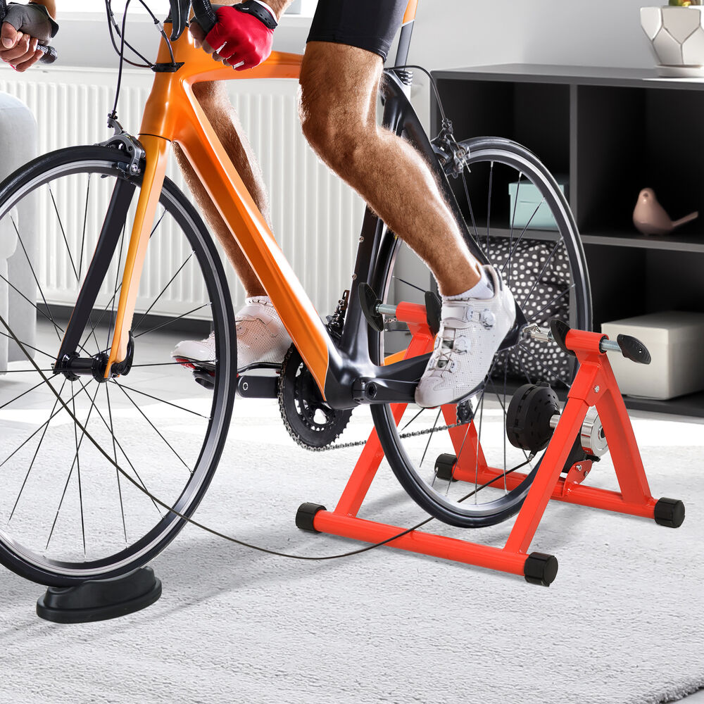 Soozier Magnetic Bicycle Trainer Stand 5 Level Exercise