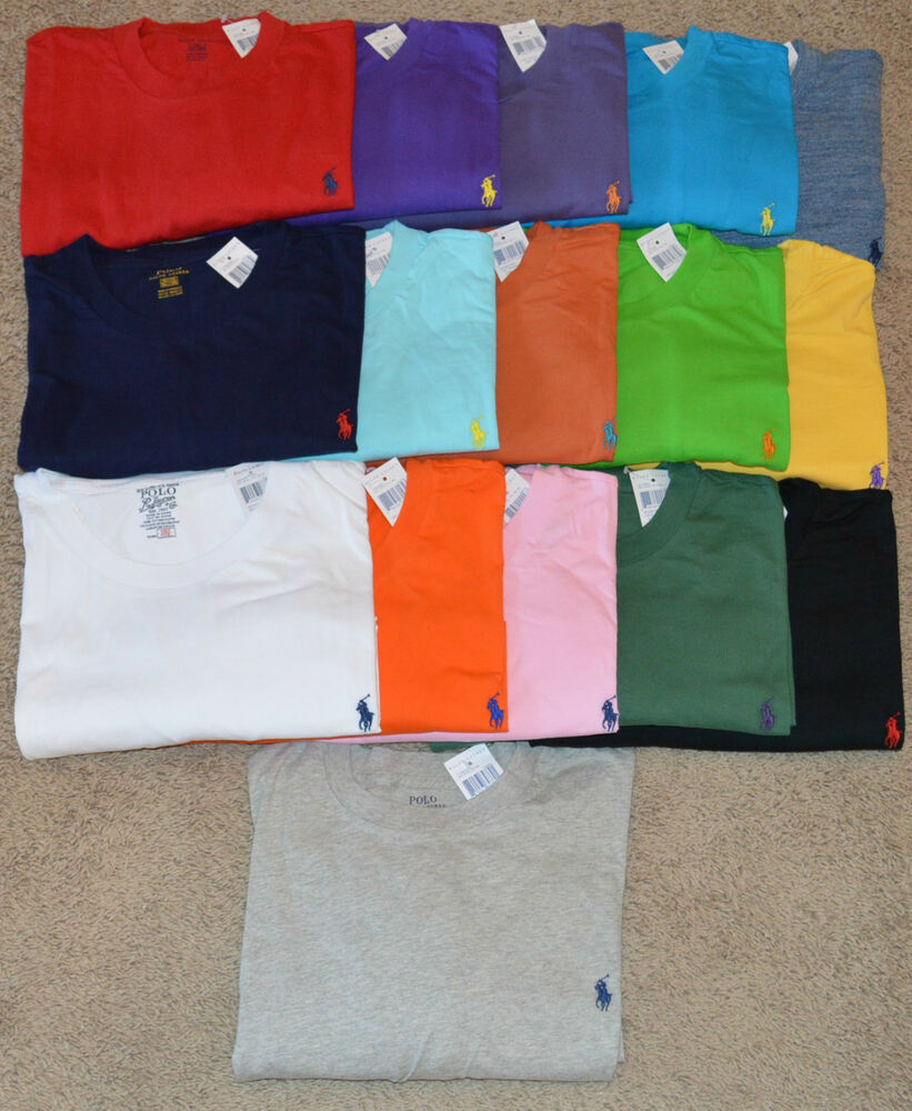 New Polo Ralph Lauren Big And Tall Crewneck Logo Tee T