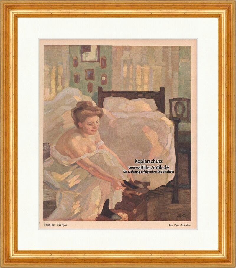 sonniger morgen leo putz m nchen frau schuhe schlafzimmer. Black Bedroom Furniture Sets. Home Design Ideas