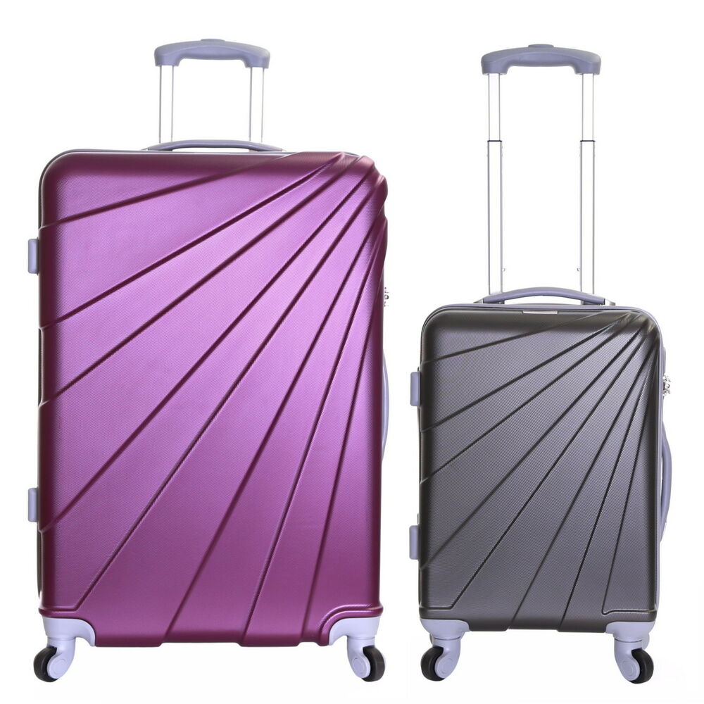 Extra Large Small Cabin Hard Shell Travel Trolley Hand Luggage ...