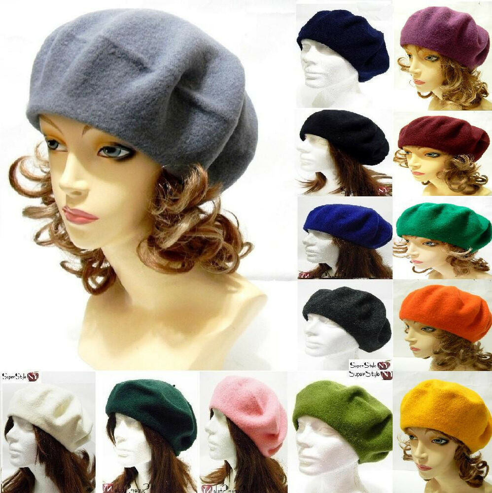 Fashion Beret Classy French Classic Style Hat Warm Wool