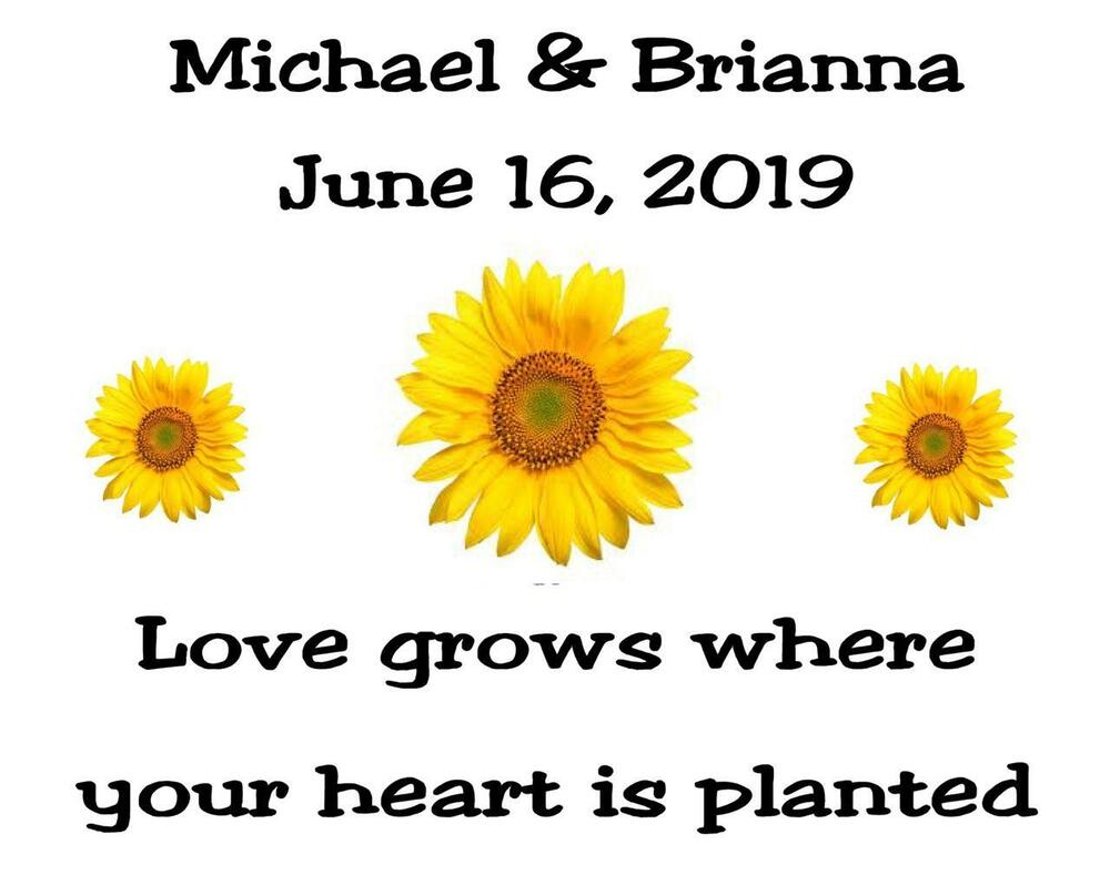 Wedding Favor Seed Packets Personalized Sunflower Custom Favors 100 Quantity
