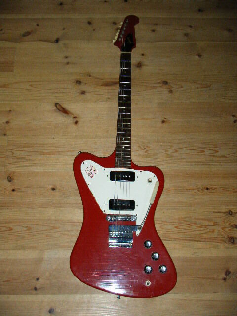 gibson firebird non reverse with arm 1968 usa cardinal red w c ship from japan ebay. Black Bedroom Furniture Sets. Home Design Ideas