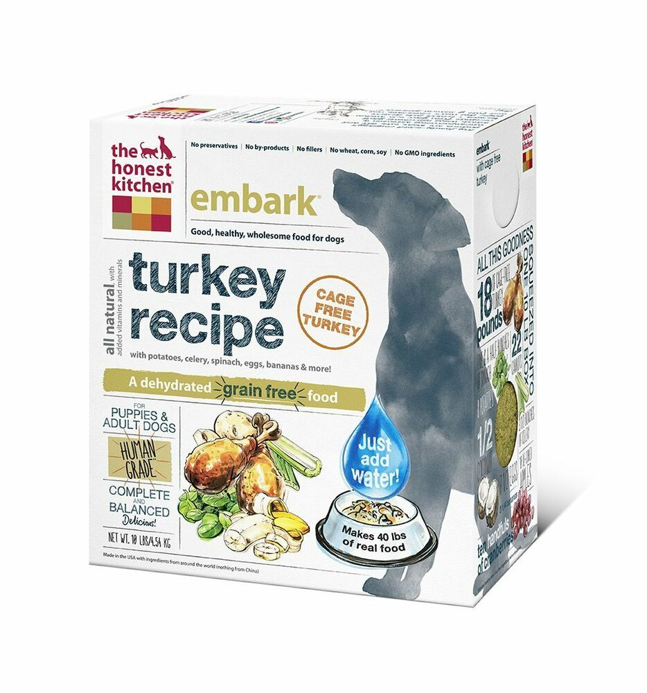 Honest Kitchen Embark: The Honest Kitchen Embark Dehydrated Dog Food, 10 Lb Box