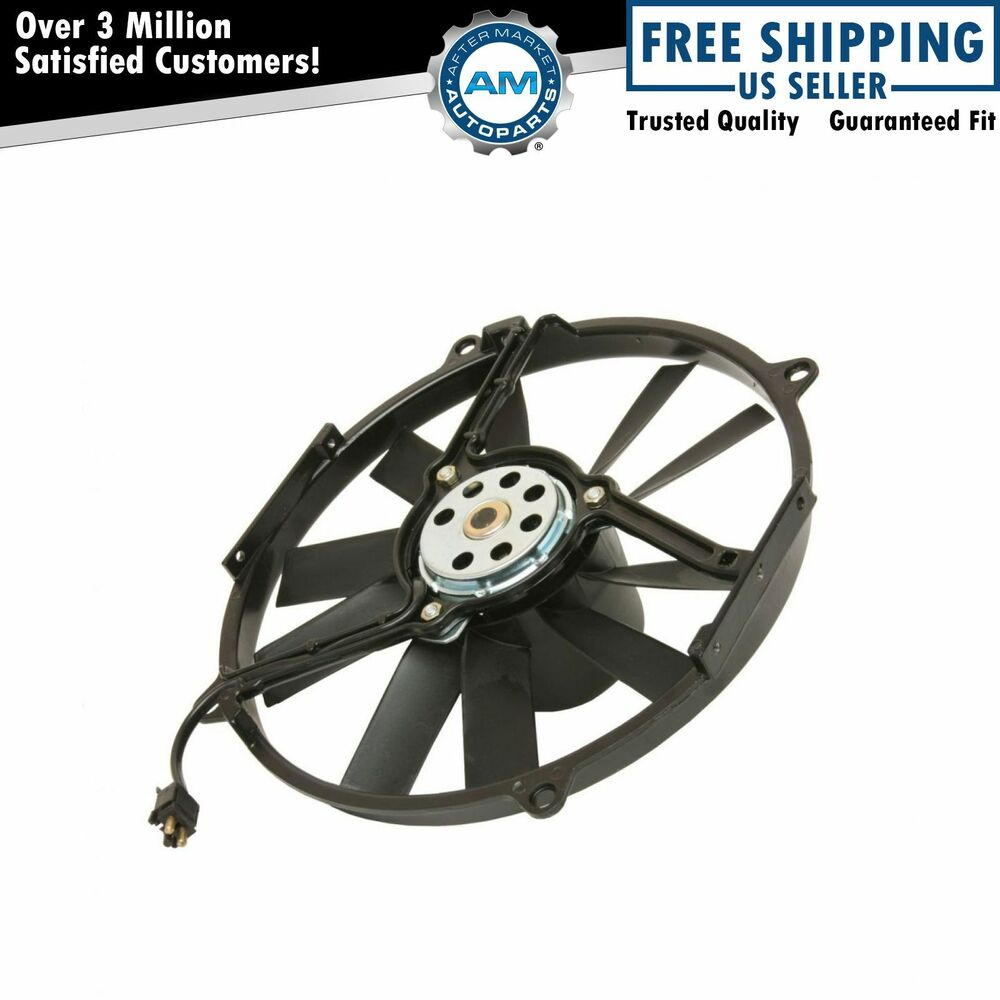 Auxiliary radiator fan assembly for mercedes benz mb 300 for Mercedes benz fans