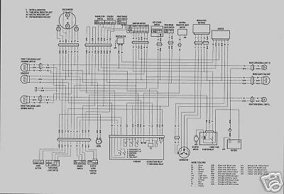 WIRING       SCHEMATIC       DIAGRAM    FOR    SUZUKI    GV1400   eBay