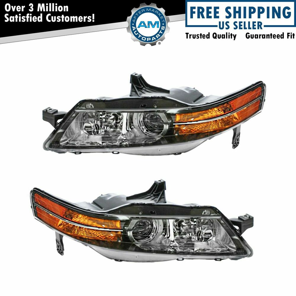 HID Xenon Headlight Headlamp Left & Right Pair Set For 04