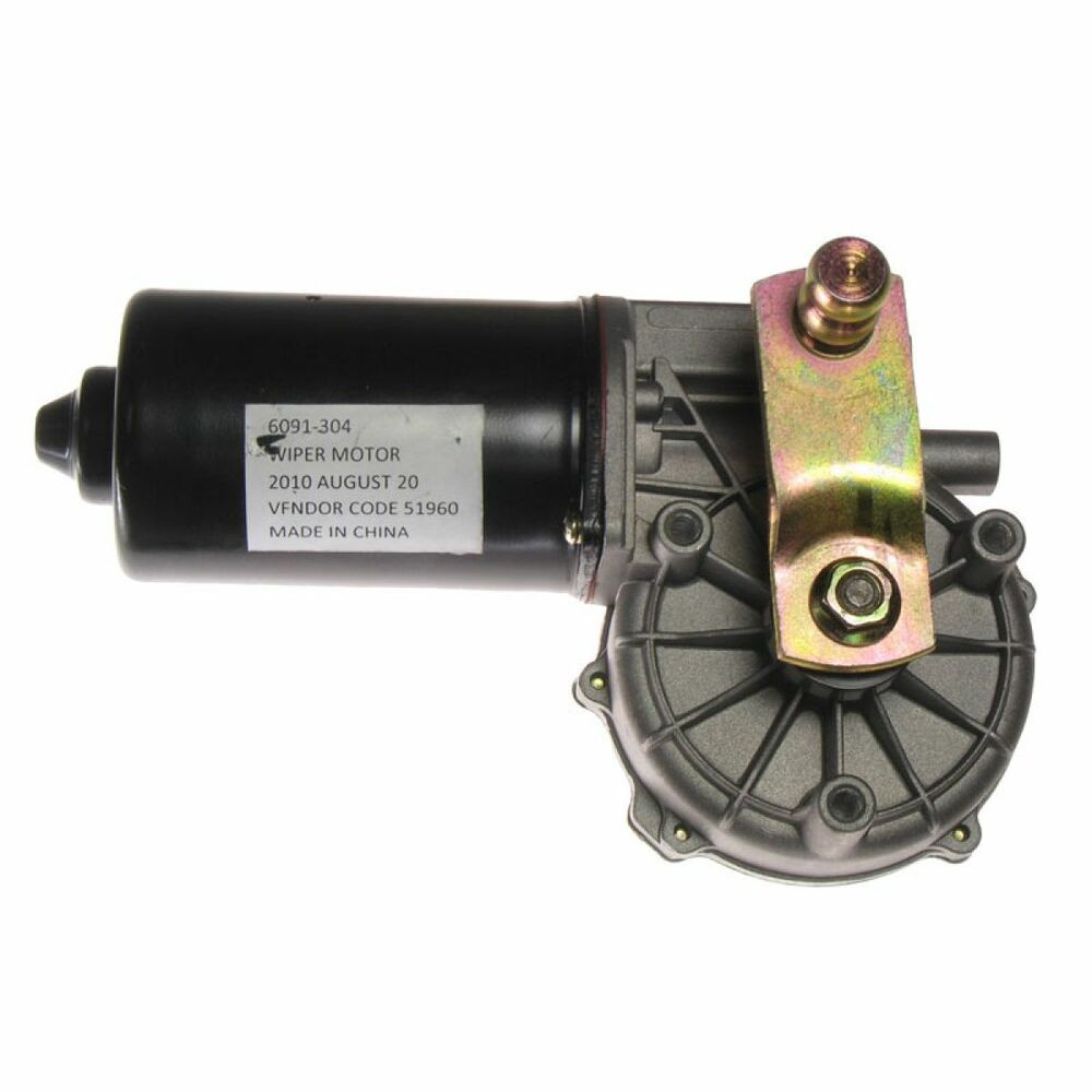 Front windshield wiper motor new for chrysler dodge for Window motor repair cost