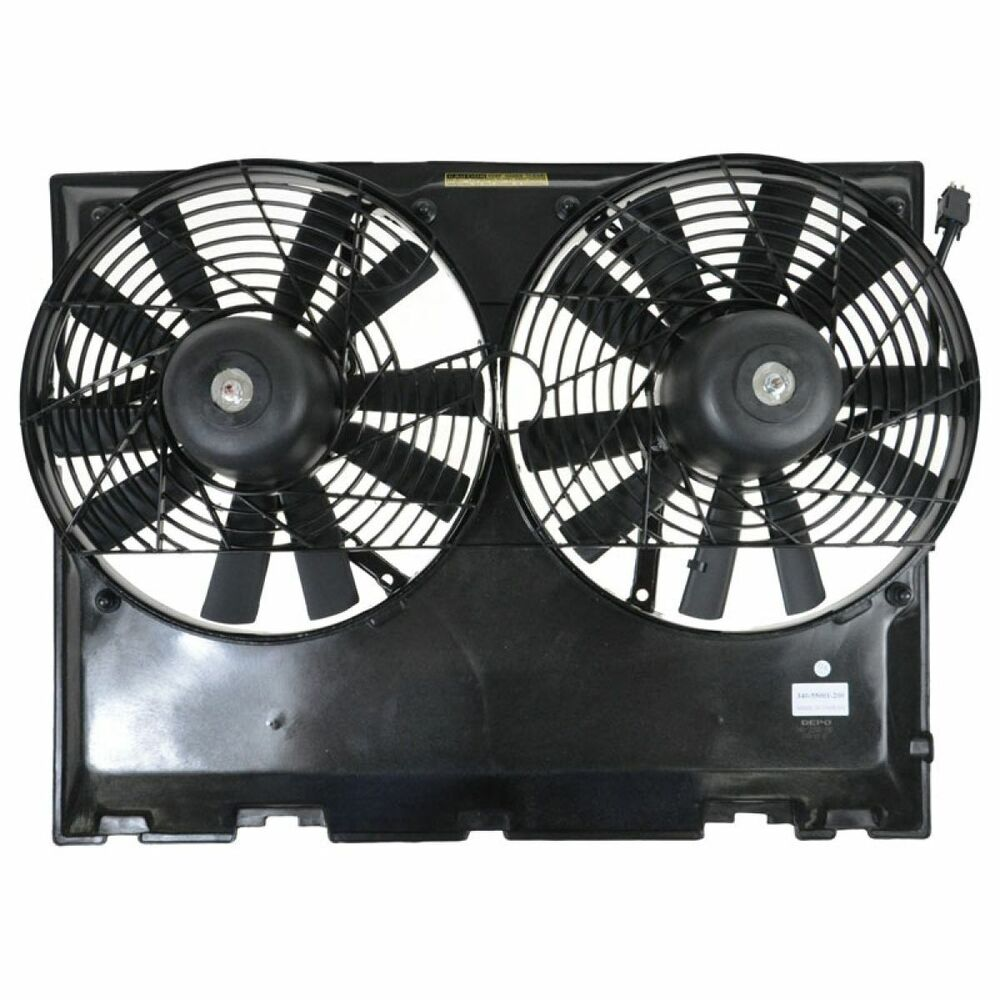 Radiator cooling fan assembly for 300 mercedes benz e for Mercedes benz fans