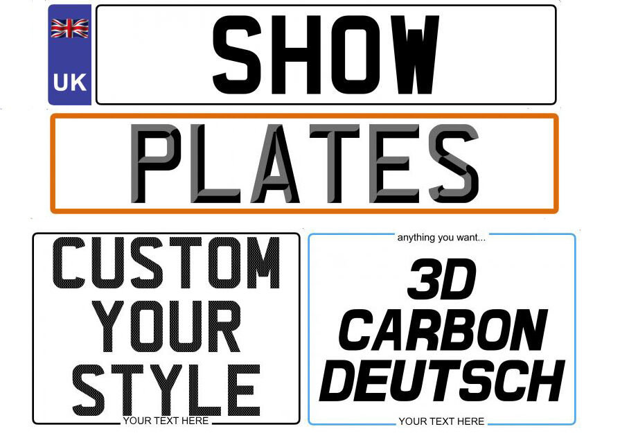 Buy Replacement Car Number Plate