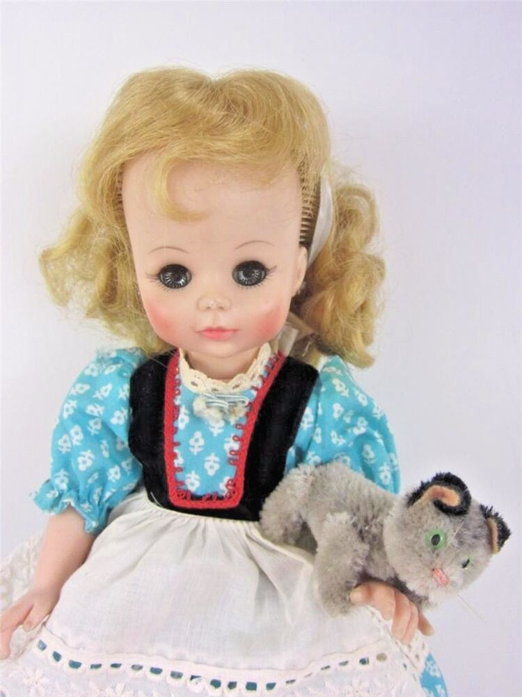Lovee Doll Amp Toy Co : Madame alexander jenny lind doll her listening cat