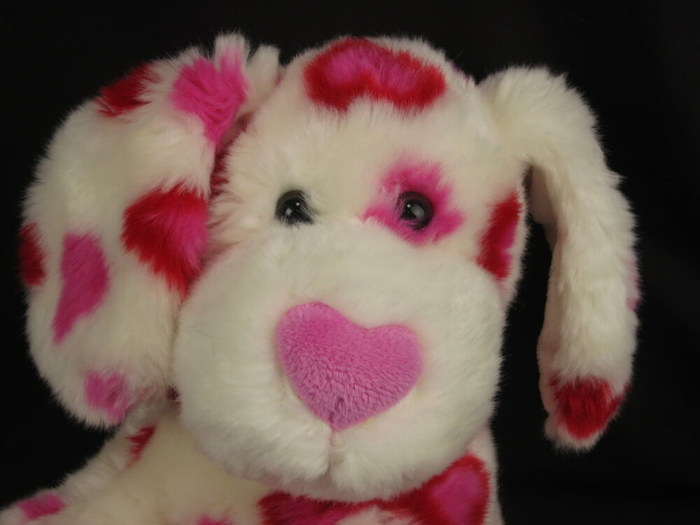 Valentine S For Dogs Toys : Build a bear valentine hearts puppy dog red pink white