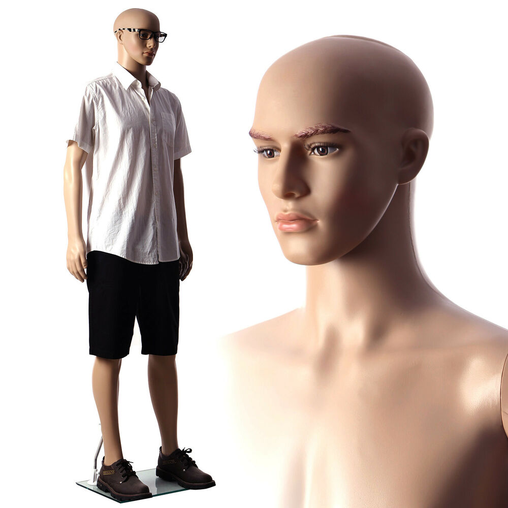 Ihram Kids For Sale Dubai: SONGMICS Natural Copmplexion Full Body Male Mannequin With