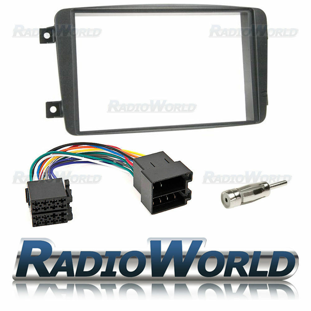 Mercedes Benz C Class Stereo Radio Fitting Kit Fascia Panel Adapter Mazda 3 Cd Car Wiring Loom Ebay Double Din