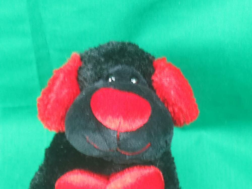 Walmart Toys Puppy : Valentine red hot love heart you and me black walmart