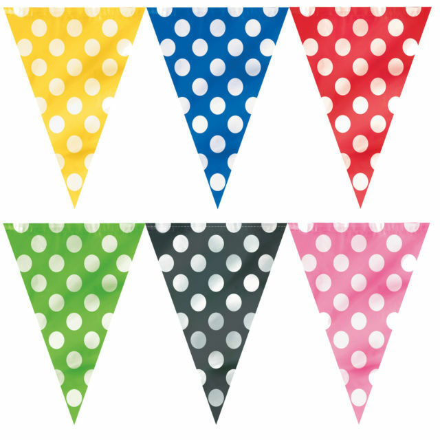 polka dot party flags - photo #13