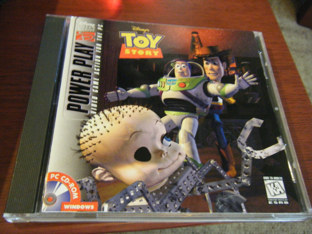 Case Of Toy Story Games : Disney s toy story power play jewel case pc