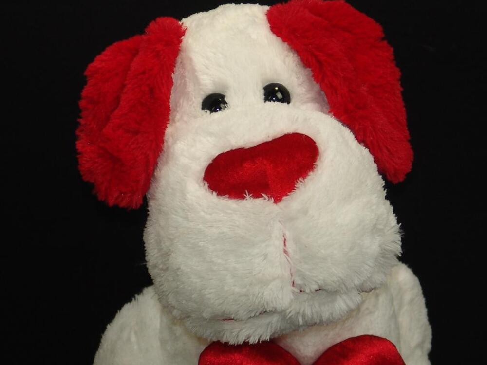 Valentine S For Dogs Toys : Big walmart valentine heart i love you puppy dog red white
