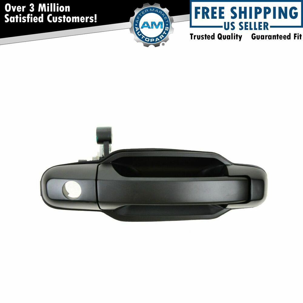 Front exterior outside door handle passenger side right rh for Outside side door