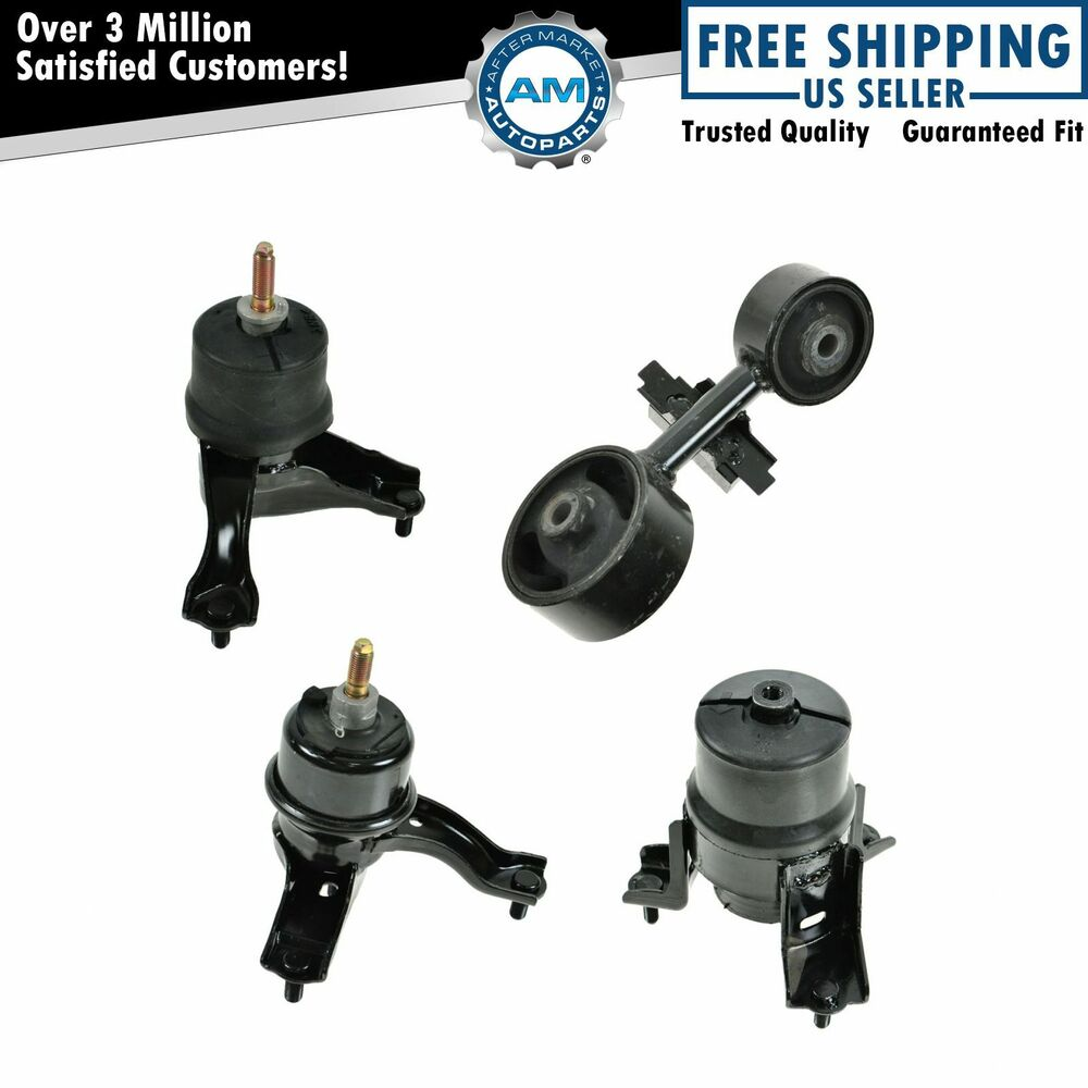 Motor Engine Transmission Mount Set Of 4 For Toyota Camry Solara 4 Cyl 2 4l Ebay