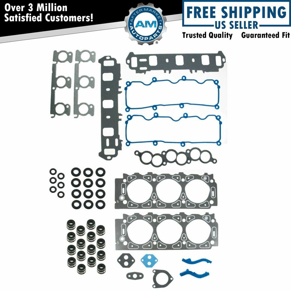 Cylinder Head Gasket 2 Per Engine 07v103147: Engine Head Gasket Kit Set For Ford Taurus Windstar Sable
