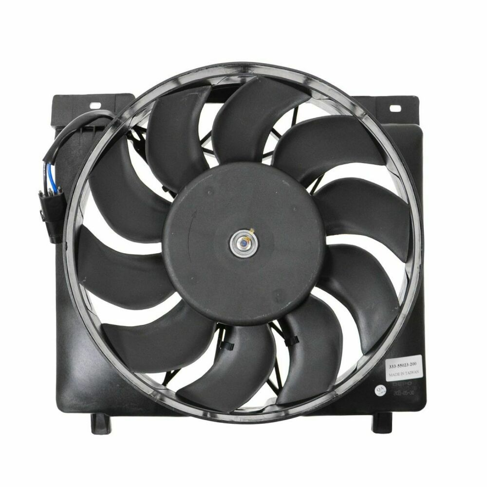 Radiator Cooling Fans : Radiator cooling fan assembly for jeep cherokee ebay