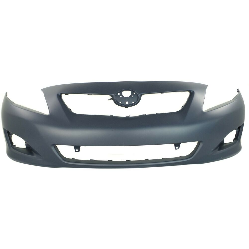 front bumper cover for 2009 2010 toyota corolla w fog. Black Bedroom Furniture Sets. Home Design Ideas