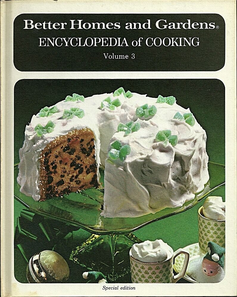 Better Homes And Gardens Encyclopedia Of Cooking Vol 3