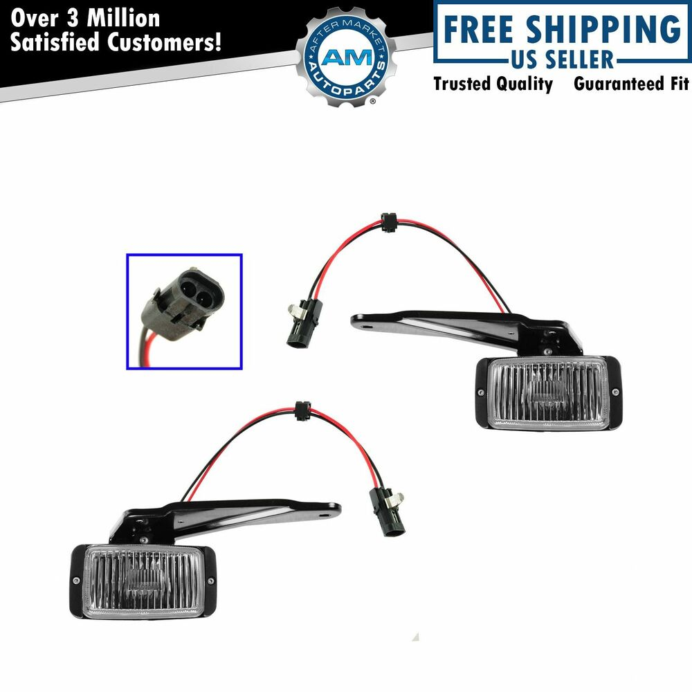 fog driving light pair set for 88 k 1500 2500 3500 new