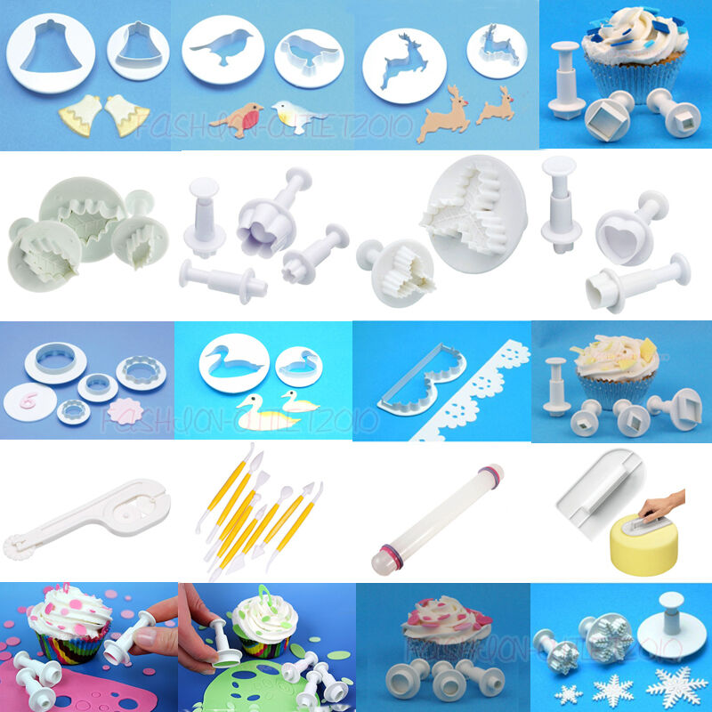 Sugarcraft Cake Decorating And Baking Show : Fondant Cake Decorating Gum Paste Equipment Mould ...
