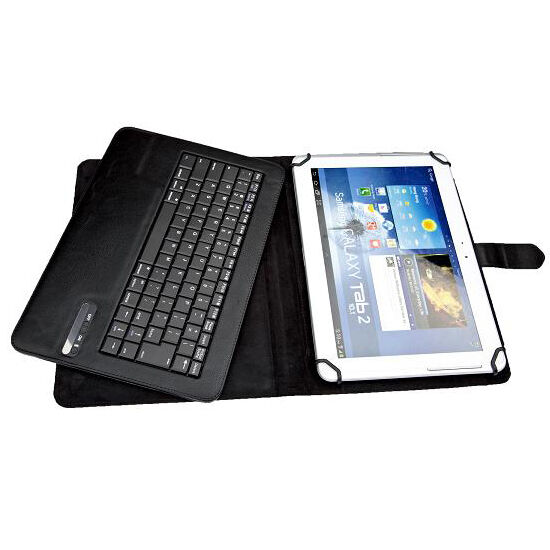 Universal Bluetooth Keyboard Case For 9 To 10 Inch IOS + Android + Window Tablet