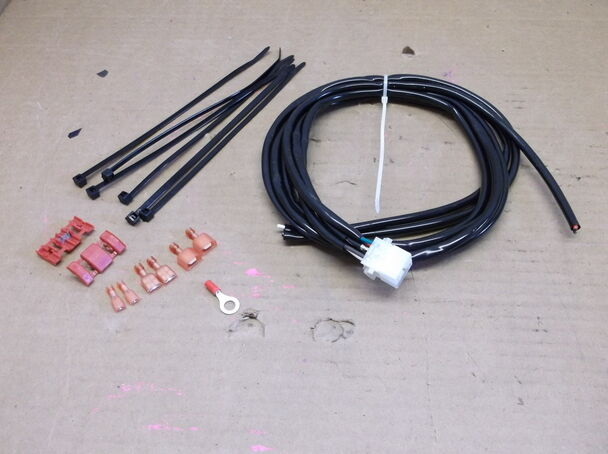 Wiring Harness For Custom Motorcycle : Electrol co inc turn signal wiring harness for custom