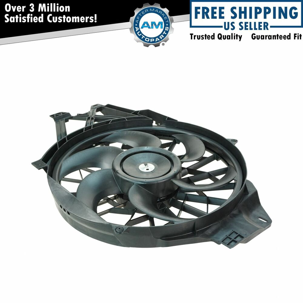 radiator cooling fan motor assembly for 99 04 ford. Black Bedroom Furniture Sets. Home Design Ideas