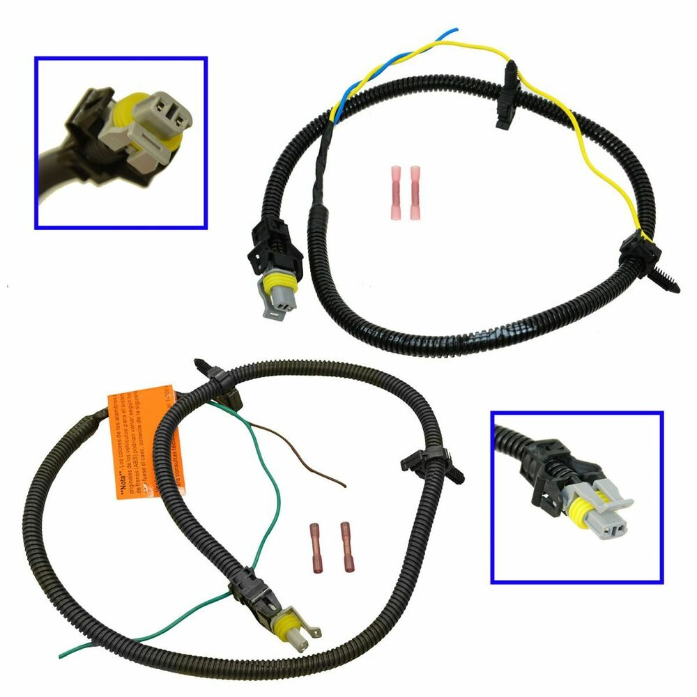 Front Abs Brake Harness Connector Pair Set For Olds Alero