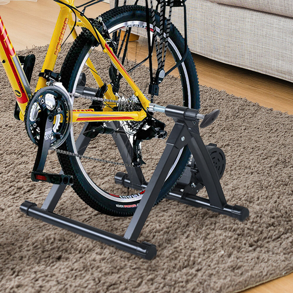 Folding Indoor Magnetic Bike Trainer Exercise Bicycle
