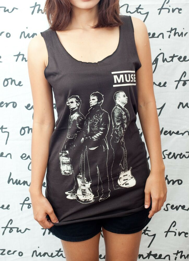 muse band matthew bellamy uk women tank top t shirt vest. Black Bedroom Furniture Sets. Home Design Ideas