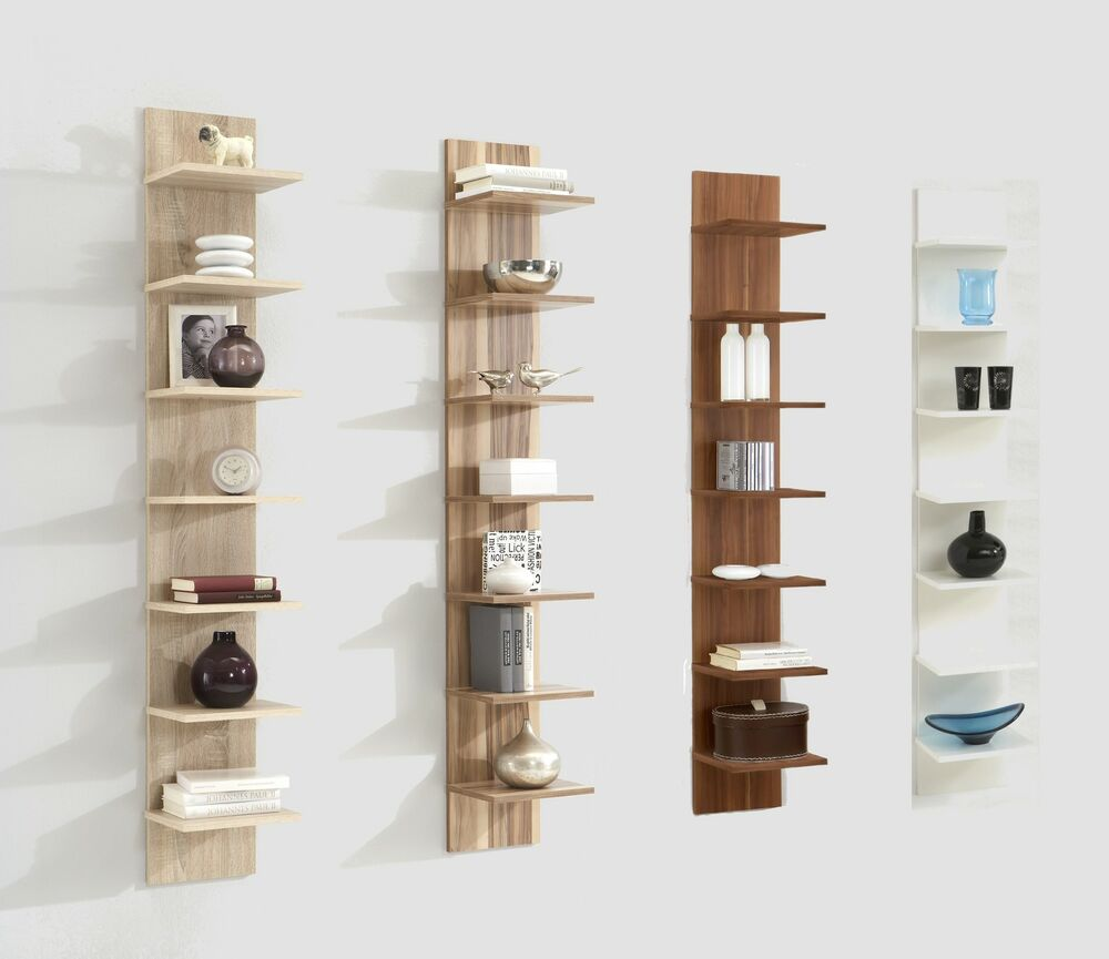 Flip Designer 7 Tier Vertical Floor Wall Display Shelf