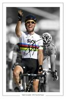 MARK CAVENDISH 2012 TOUR DE FRANCE SIGNED AUTOGRAPH PHOTO PRINT