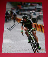 BEN SWIFT CYCLING AUTOGRAPH HAND SIGNED 12X8 PHOTO TEAM SKY