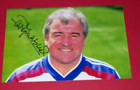 TERRY VENABLES ENGLAND  HAND SIGNED 12X8 PHOTO