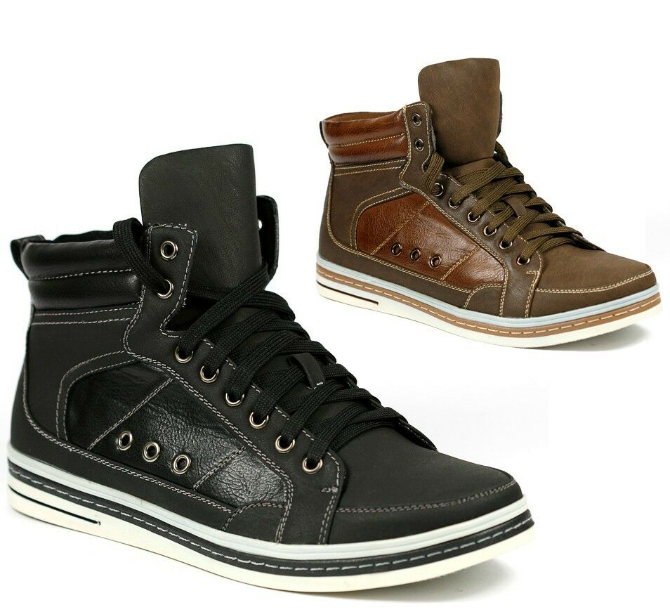 delli aldo s high top lace up fashion sneakers ankle