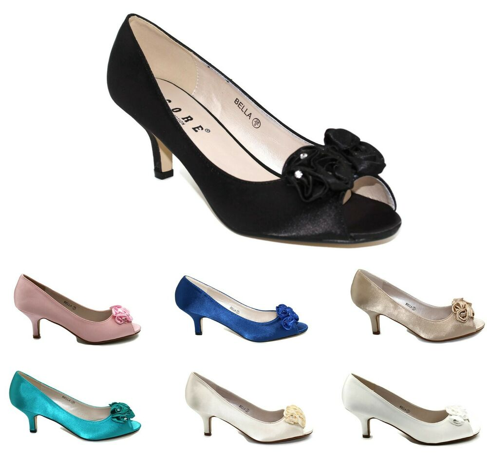 Ivory Wide Fit Ladies Shoes Uk