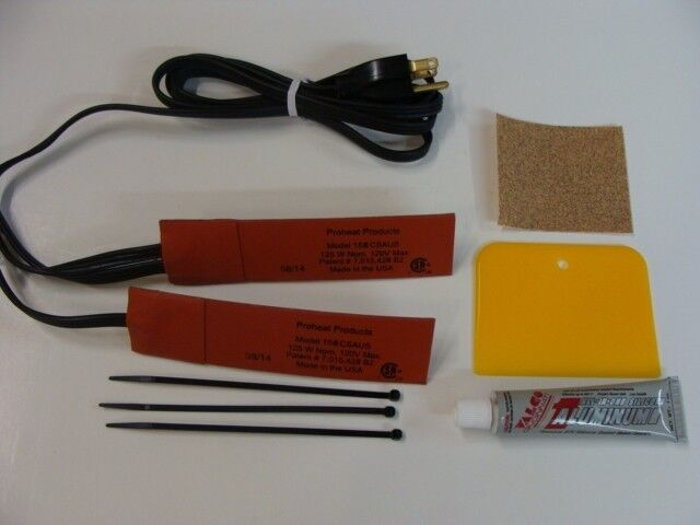 Engine Heater Oil Pan Heater Pad Heater 250 Watt Dual 125